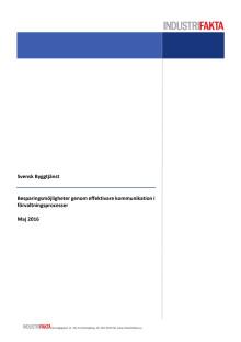 """Ta del av hela den nya undersökningen """" Besparingsmöjligheter genom effektivare kommunikation i förvaltningsprocesser"""""""