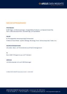 Deutschland - Medienprogramm