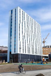 Europas største pasienthotell viser vei  - Pingvinhotellet i Tromsø leverer energieffektivitet i verdensklasse