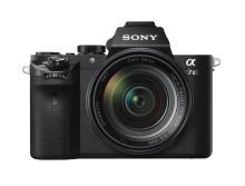 Sony wprowadza aparat α7 II — pierwszy na świecie korpus z pełnoklatkową matrycą obrazu wyposażony w 5-kierunkowy, optyczny system stabilizacji obrazu