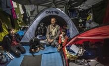Grekland: Katastrofala konsekvenser om corona-virus får fäste i lägren