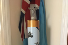 Stone station takes part in RAF centenary celebrations