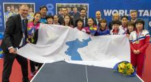 Halmstad bygger VM-samling med historisk Koreaflagga