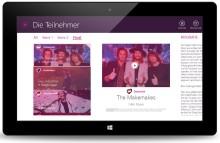 APPSfactory setzt native Apps und Backend für Eurovision Song Contest 2015 in Kooperation mit digame mobile um