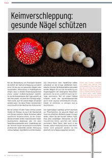 Keimverschleppung: gesunde Nägel schützen