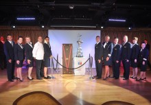 Fred. Olsen Cruise Lines welcomes the America's Cup aboard 'Boudicca' in Bermuda