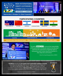 USHERING SMART CITIES: EVORICH Gives Active Participation in  The India International Smart-Sustainable Cities Conference and Exhibition 2016