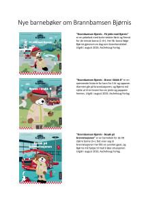 Aschehoug gir ut tre barnebøker om Bjørnis denne høsten.