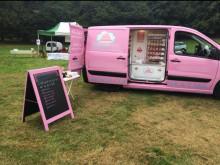 Appeal for witnesses after pink van stolen in Weybridge