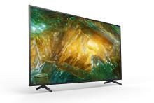 Sony kondigt beschikbaarheid XH81, XH80 en X70 4K HDR LCD-TV's aan