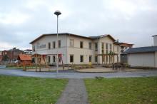 Ny förskola färdigbyggd väst på stan