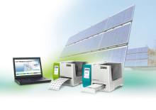 Professionel og enkel mærkning af fotovoltaiske installationer