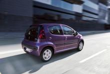 Nya Peugeot 107 : modernare och fräckare !