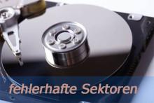 Kann man fehlerhafte Sektoren dauerhaft von der Festplatte entfernen?
