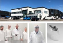 Från matproduktion till att producera skyddsvisir - Mixum ska tillverka 15 000 visir om dagen