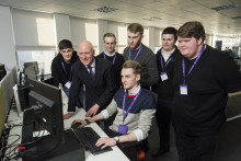MSP applauds graduates of BT work placement in Edinburgh