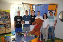 RB-Nachwuchs organisiert Sammelaktion für Bärenherz