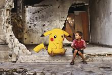 Aleppo-flyktings virala bildmontage ställs nu ut på Fotografiska