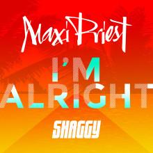"""Reggaestjärnan Maxi Priest släpper singeln """"I'm Alright"""" feat. Shaggy"""