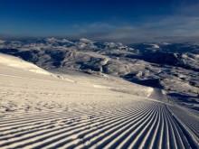 Ovanligt goda snöförhållanden i hela landet