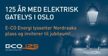 125 år med elektrisk gatelys i Oslo