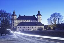 Julmarknad i barockmiljö på Skoklosters slott