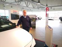 Høy Toyota-etterspørsel i april i Harstad