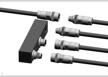 Innovative push-pull standard M12 connector – cross manufacturer