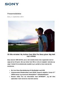 Et lille mirakel: Ny Action Cam Mini fra Sony giver dig helt nye vinkler