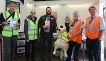 Southern welcomes local meerkat trail to Moulsecoomb station