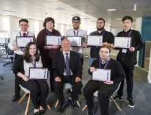 Dundee MSP applauds BT work placement graduates