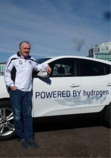 Holmenkollstafetten satser på hydrogen