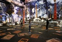 """Vom Dorf zur """"Boomtown"""": Kunstkraftwerk präsentiert eindrucksvolle 360-Grad-Videoshow zur Leipziger Industriekultur"""