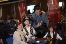 Treat your little treasures to a family day cruise this Easter