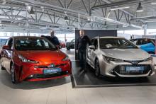 Nye Toyota Corolla Hybrid og Toyota Prius er klare for Harstad