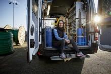 Fiber-udrulning skaber job i Trekantområdet