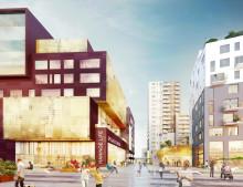 Haningeterrassen – en levande mötesplats och ny stadskärna med framtidens boende i Haninge