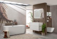 Donnez vie à vos exigences :  la nouvelle collection haut de gamme Finion crée une ambiance luxueuse dans la salle de bains
