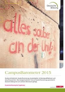 Ergebnisbroschüre CampusBarometer 2015