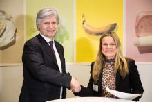 Lantmännen Unibake Norge underskriver avtale om å redusere matsvinn