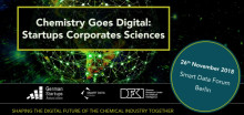 'Chemistry Goes Digital: Startups Corporates Sciences'
