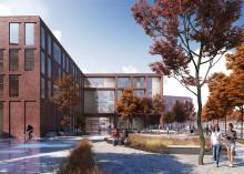Lunds nya gymnasieskola blir grön och tillgänglig för hela staden