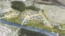 Detaljplan Västra Jakobsberg och bygghandel i Välsviken på stadsbyggnadsnämndens arbetsutskott
