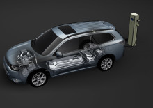 "Outlander Plug-in hybrid har tilldelats ""Technology of the year 2014"""
