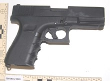 Three jailed for firearms offences