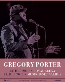 Gregory Porter kommer til København og Aarhus til juli