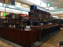 Inbjudan till öppningen av Starbucks i Täby Centrum
