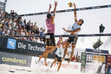 Beachvolleyball is back!