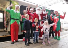 Families invited to join Santa's festive train on the Marston Vale Line