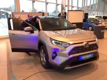 Folke-SUVen RAV4 er klar for lansering på Mo